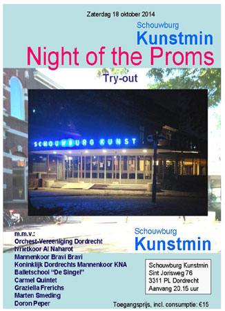 "Harry Wagemakers: ""Night of the Proms""in Dordrecht laat 18 oktober zien hoe mooi Kunstmin is"