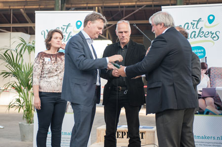 Amega en Gebr. de Koning winnen Vaartmakers Awards