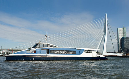 Provincie Zuid-Holland investeert in schonere Waterbussen